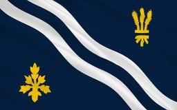 Vlag van de provincie van Oxfordshire, Engeland Royalty-vrije Stock Afbeelding