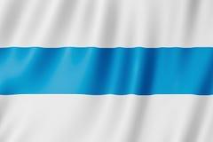 Vlag van de Provincie van Tucuman, Argentinië Stock Fotografie