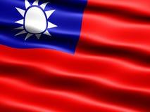 Vlag van de Republiek China Stock Afbeelding