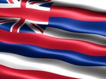 Vlag van de staat van Hawaï Stock Fotografie