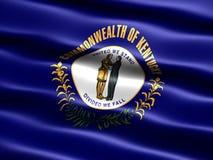 Vlag van de staat van Kentucky Stock Foto