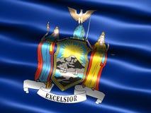 Vlag van de staat van New York Royalty-vrije Stock Fotografie