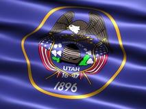 Vlag van de staat van Utah Stock Afbeelding