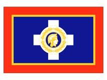 Vlag van de Stad van Athene vector illustratie