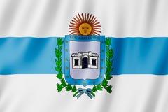 Vlag van de stad van Tucuman, Argentinië Royalty-vrije Stock Afbeeldingen