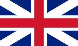 Vlag van de Unie (hefboom) 1606 Royalty-vrije Stock Foto's