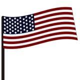 Vlag van de V Royalty-vrije Stock Afbeelding
