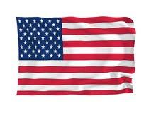 Vlag van de V.S. Stock Foto