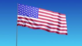 Vlag van de V.S. stock illustratie