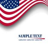 Vlag van de V.S. Stock Afbeelding