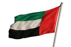 Vlag van de Verenigde Arabische Emiraten Royalty-vrije Stock Foto's