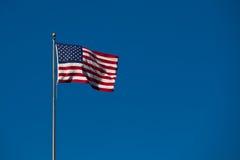 Vlag van de Verenigde Staten Stock Foto