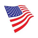Vlag van de Verenigde Staten Royalty-vrije Stock Foto