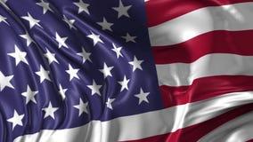 Vlag van de Verenigde Staten van Amerika stock illustratie