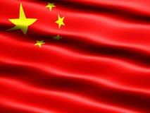 Vlag van de Volksrepubliek China Stock Foto