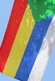 vlag van Druze Royalty-vrije Stock Foto's
