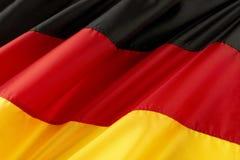 Vlag van Duitsland Stock Fotografie
