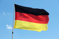 Vlag van Duitsland Royalty-vrije Stock Foto's