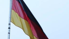 Vlag van Duitsland stock video