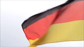 Vlag van Duitsland stock footage