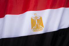 Vlag van Egypte Stock Afbeelding
