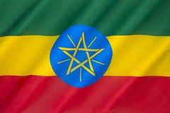 Vlag van Ethiopië Royalty-vrije Stock Foto