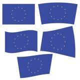 Vlag van Europa Stock Foto's