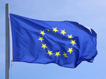 Vlag van Europese Unie 02 Royalty-vrije Stock Afbeelding