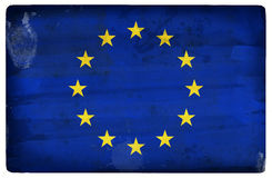 Vlag van Europese Unie Stock Afbeelding