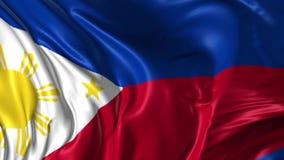 Vlag van Filippijnen stock illustratie
