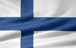 Vlag van Finland vector illustratie