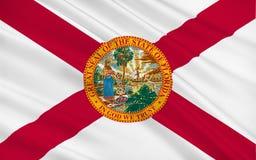Vlag van Florida, de V.S. Stock Fotografie