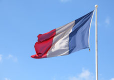 Vlag van Frankrijk Royalty-vrije Stock Afbeelding
