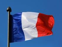 Vlag van Frankrijk Royalty-vrije Stock Foto