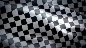 Vlag van Geruit vector illustratie