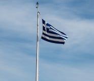 Vlag van Griekenland Royalty-vrije Stock Afbeeldingen