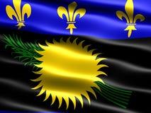 Vlag van Guadeloupe Stock Foto