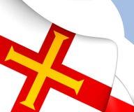 Vlag van Guernsey Stock Foto's