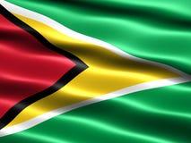 Vlag van Guyana Royalty-vrije Stock Foto