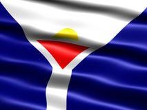 Vlag van Heilige Martin Stock Foto