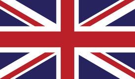 Vlag van het pictogramillustratie van het Verenigd Koninkrijk Stock Afbeelding