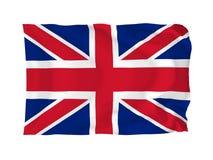 Vlag van het Verenigd Koninkrijk Royalty-vrije Stock Foto
