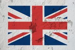 Vlag van het Verenigd Koninkrijk stock fotografie