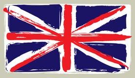 Vlag van het Verenigd Koninkrijk Stock Afbeelding
