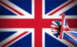 Vlag van het Verenigd Koninkrijk Stock Foto's