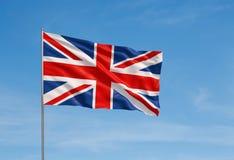 Vlag van het Verenigd Koninkrijk Royalty-vrije Stock Foto's