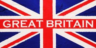 Vlag van het Verenigd Koninkrijk van Groot-Brittannië Vector Illustratie