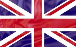 Vlag van het Verenigd Koninkrijk Ingezetenenvlaggen van het draaien van het wereldland royalty-vrije illustratie
