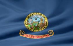 Vlag van Idaho Royalty-vrije Stock Foto's