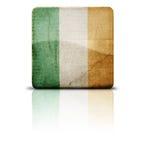 Vlag van Ierland Stock Afbeeldingen
